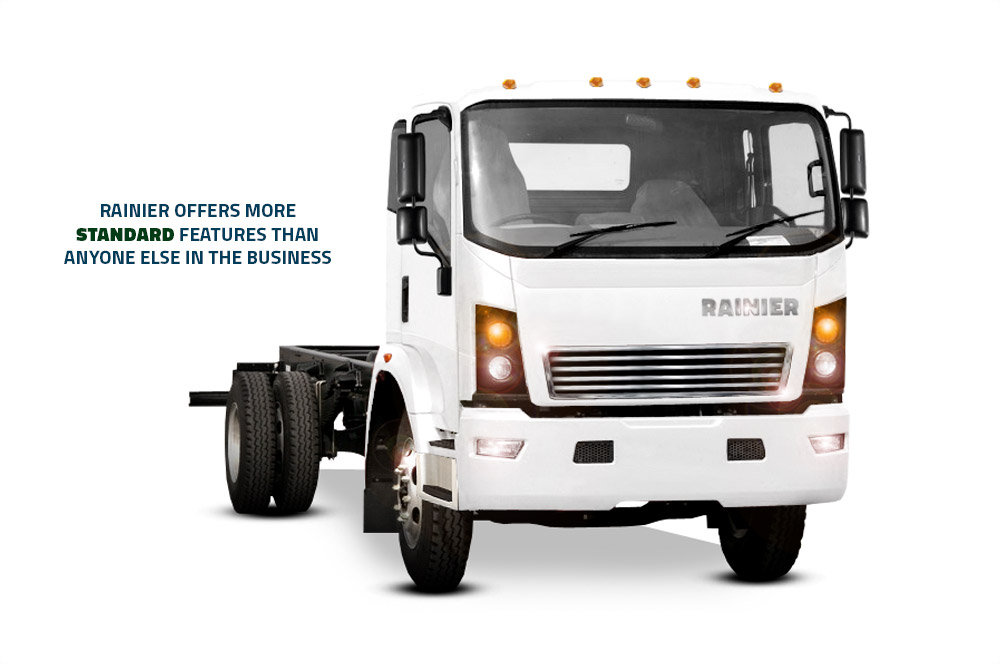 Rainier Truck and Chassis Feature - Benefits