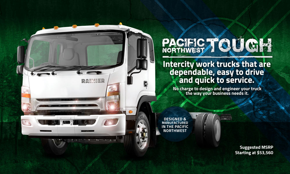 Rainier Truck and Chassis LLC, Pacific Northwest Tough